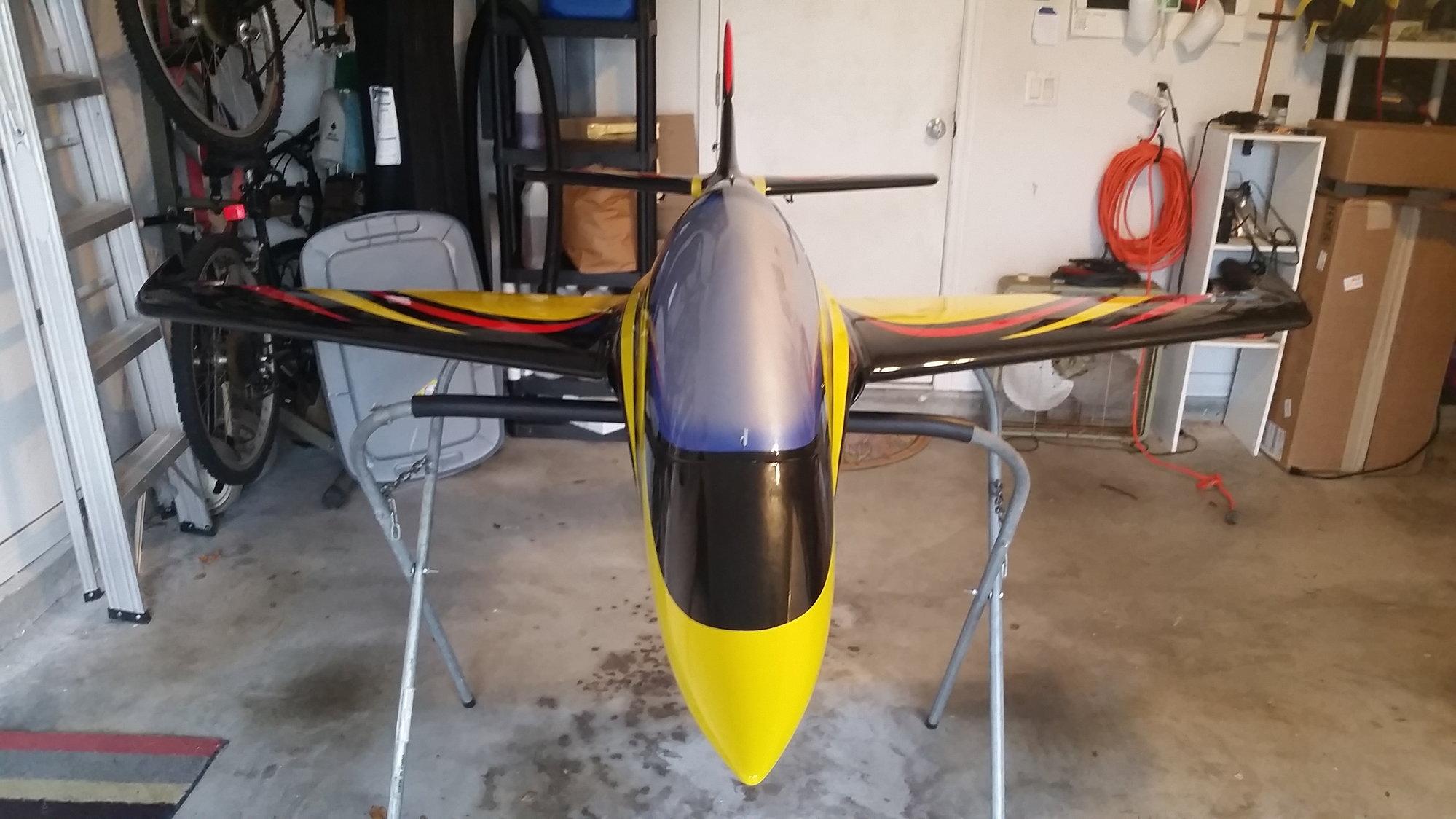 To dril a predator jet set