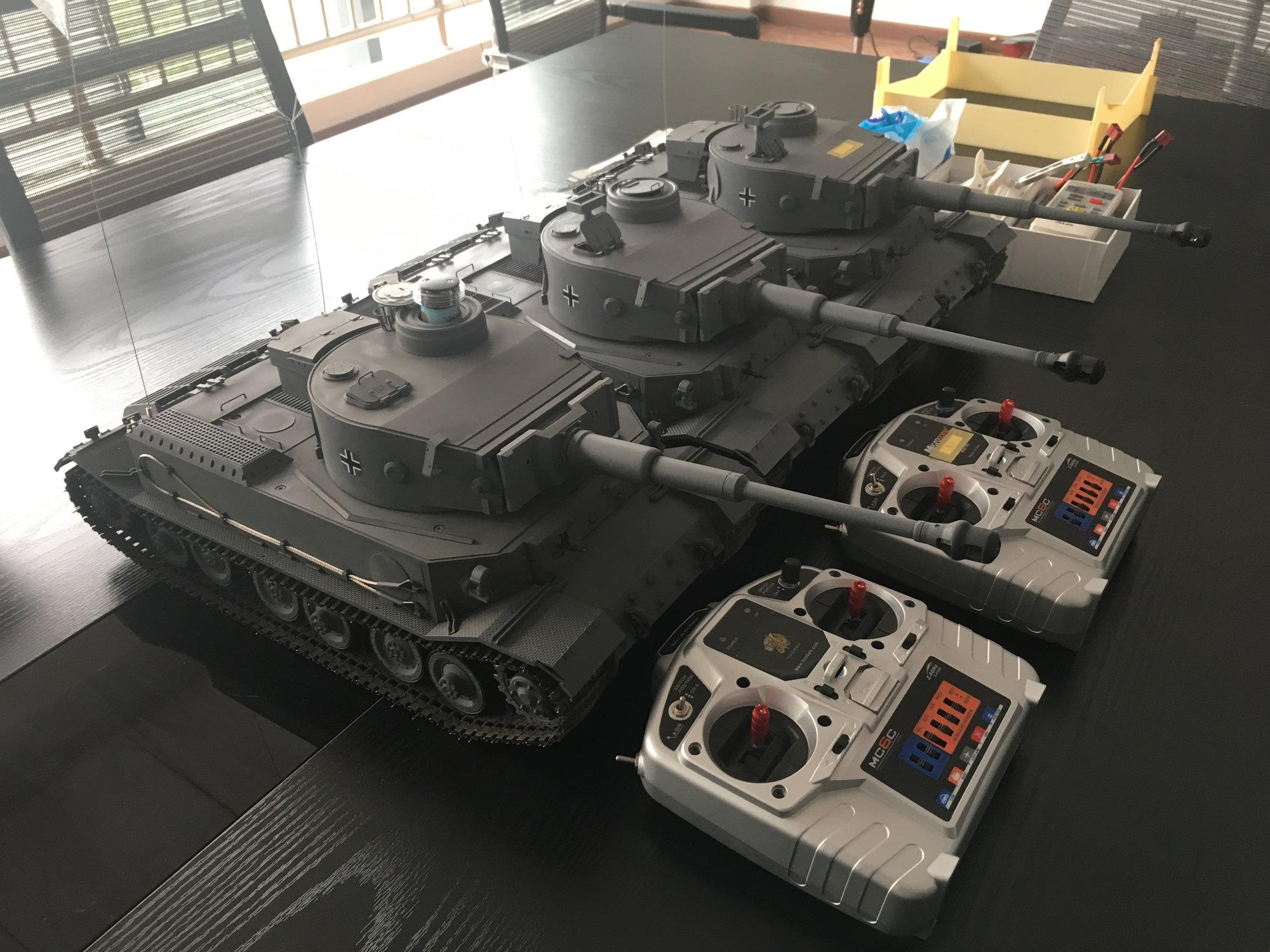 Hooben Elefant - RC Tank Warfare