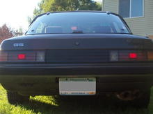 Rear of My 84  GS FB