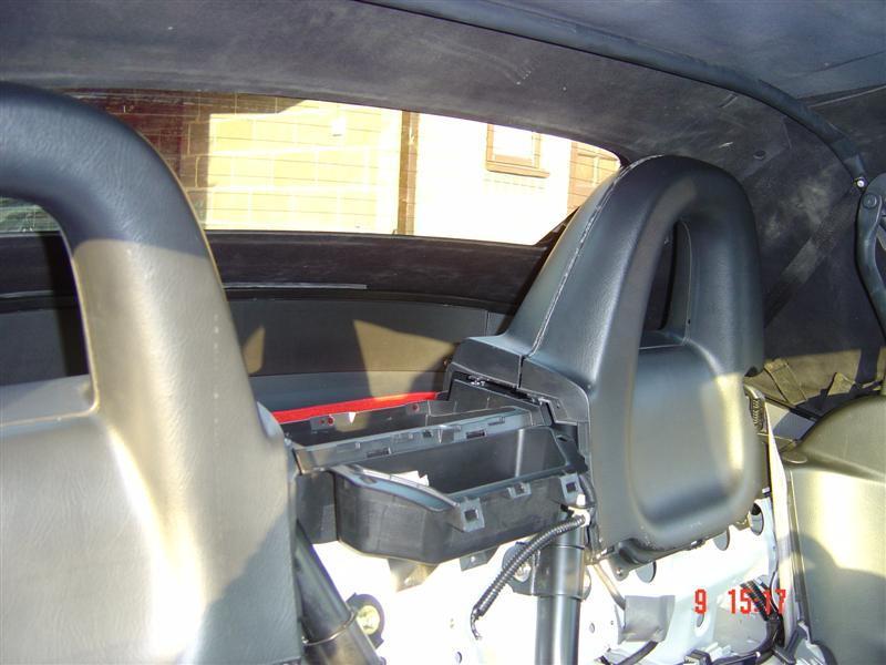 Replacing Soft Top With Glass Rear Screen S2ki Honda