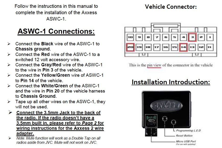 axxess interface wiring diagram axxess aswc 1 revisit s2ki honda s2000 forums  axxess aswc 1 revisit s2ki honda