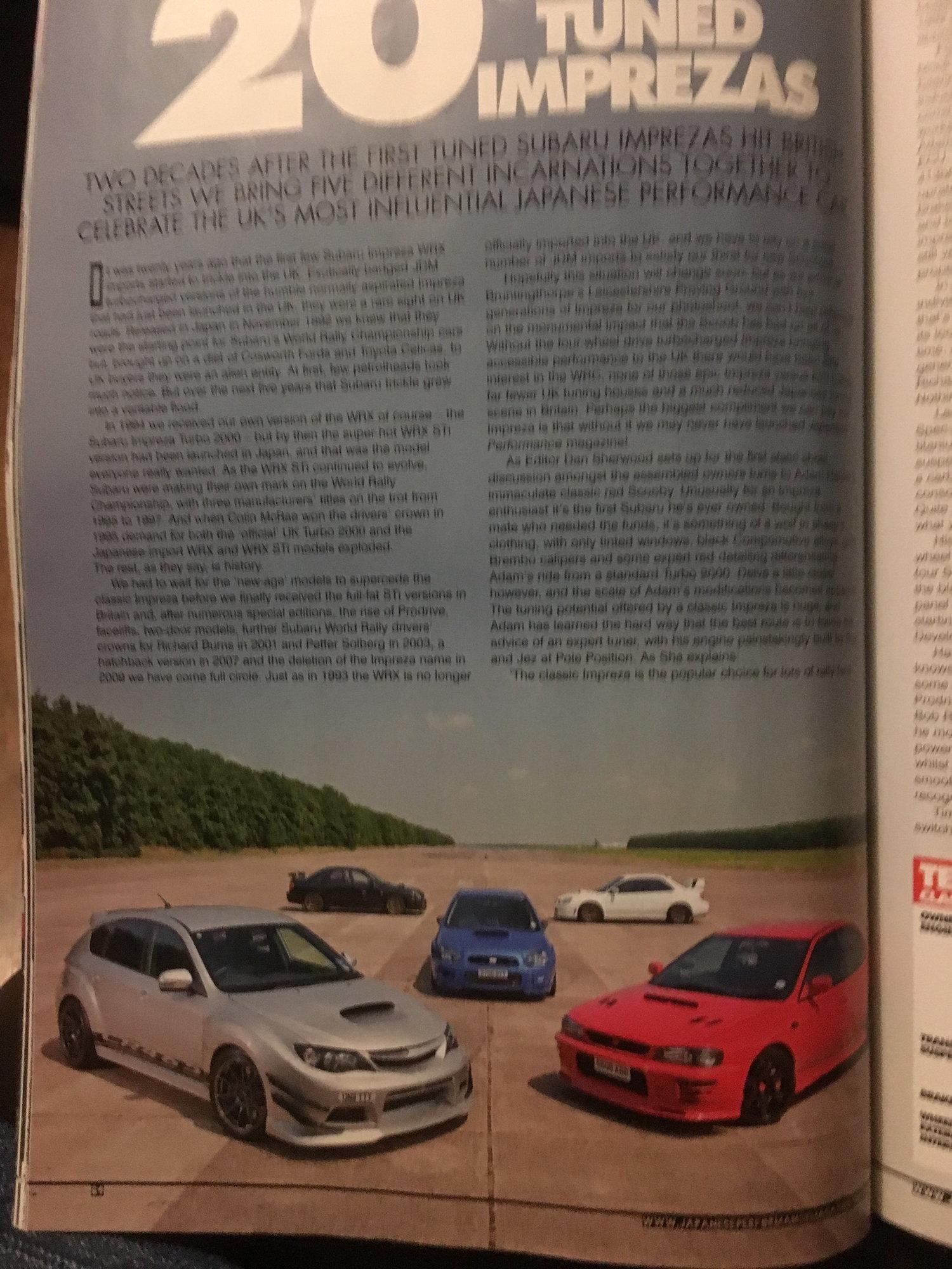 Prodrive Bugeye sti/s202 rep  - ScoobyNet com - Subaru Enthusiast Forum