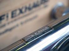 Fi Exhaust wonderfrul Name plate.