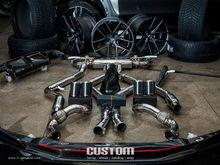 Fi Exhaust for BMW F85 X5M – Full Exhaust System. Amazing Projects.