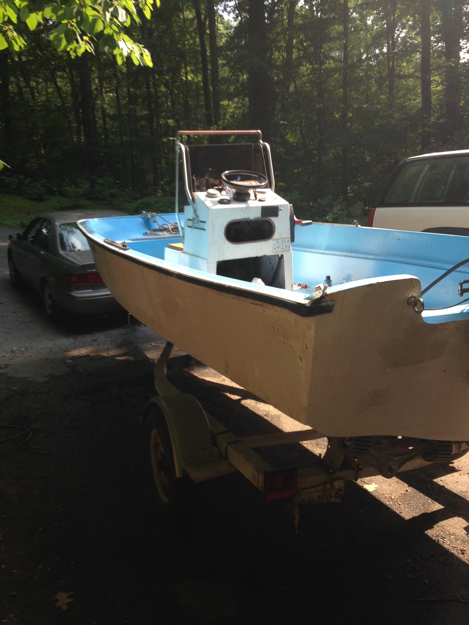 Waterlogged Foam Drill Holes The Hull Truth Boating And Wiring Diagram Advice For Small Boat Page 1 Iboats Back Together