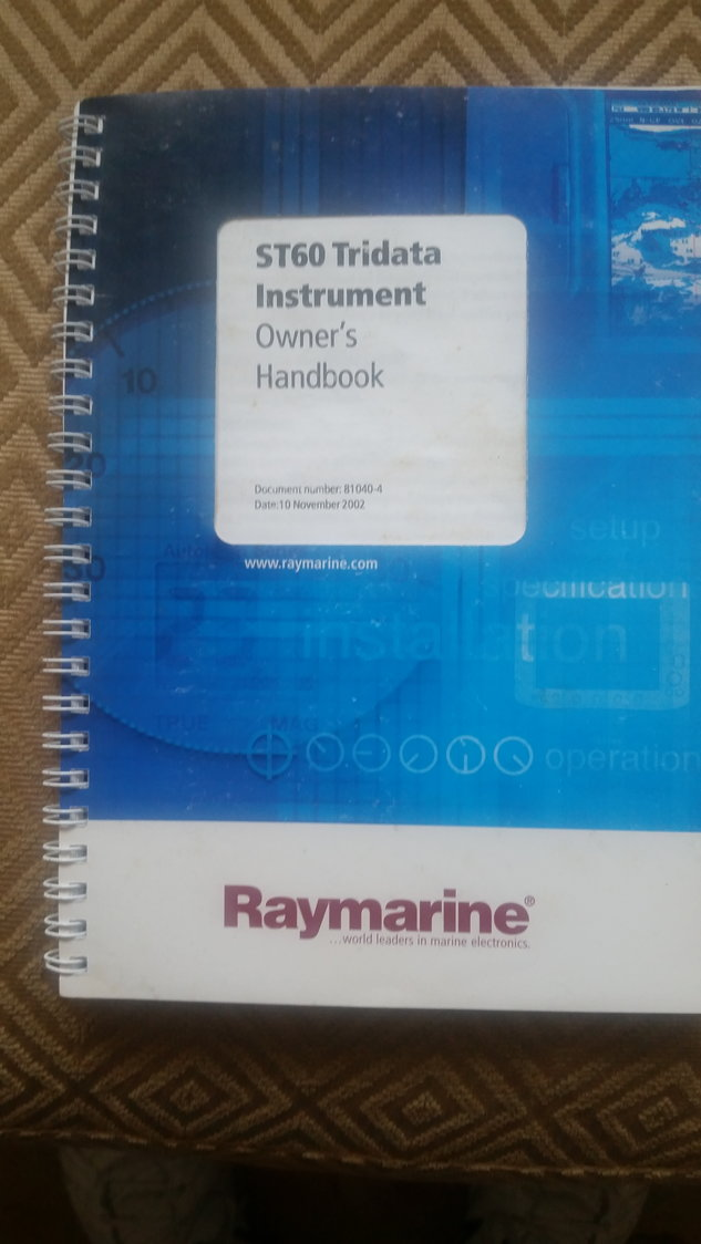 Raymarine ST60's + manuals - The Hull Truth - Boating and Fishing Forum