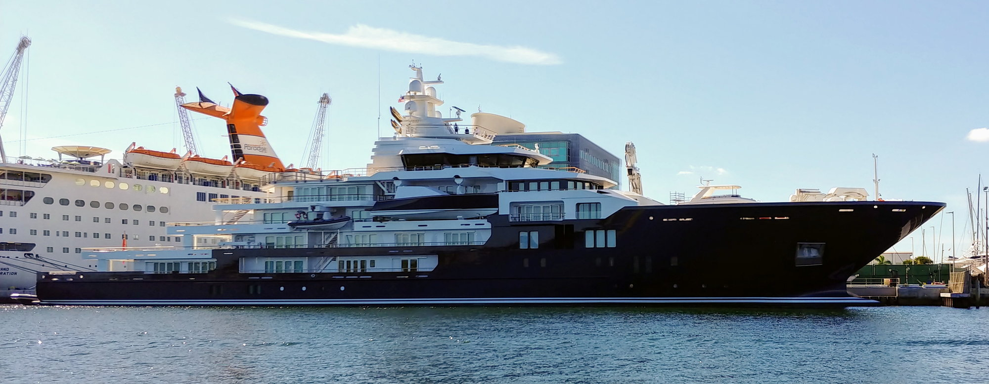 M Y Ulysses At Port Of Palm Beach The Hull Truth Boating And