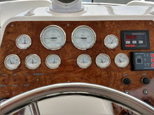 Faria Gauges for Twin Diesels