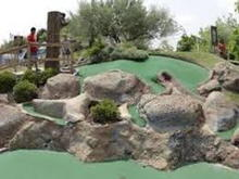 Mini- golf on Oak Island Drive