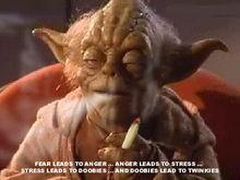yoda smoking a joint