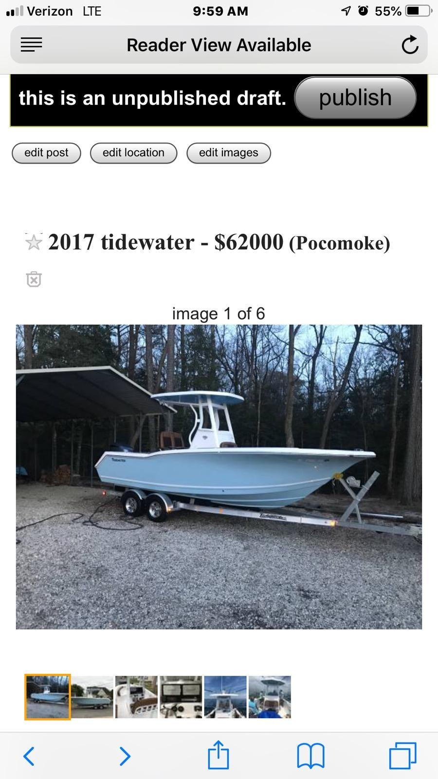 2017 Tide Water 23' - The Hull Truth - Boating and Fishing ...