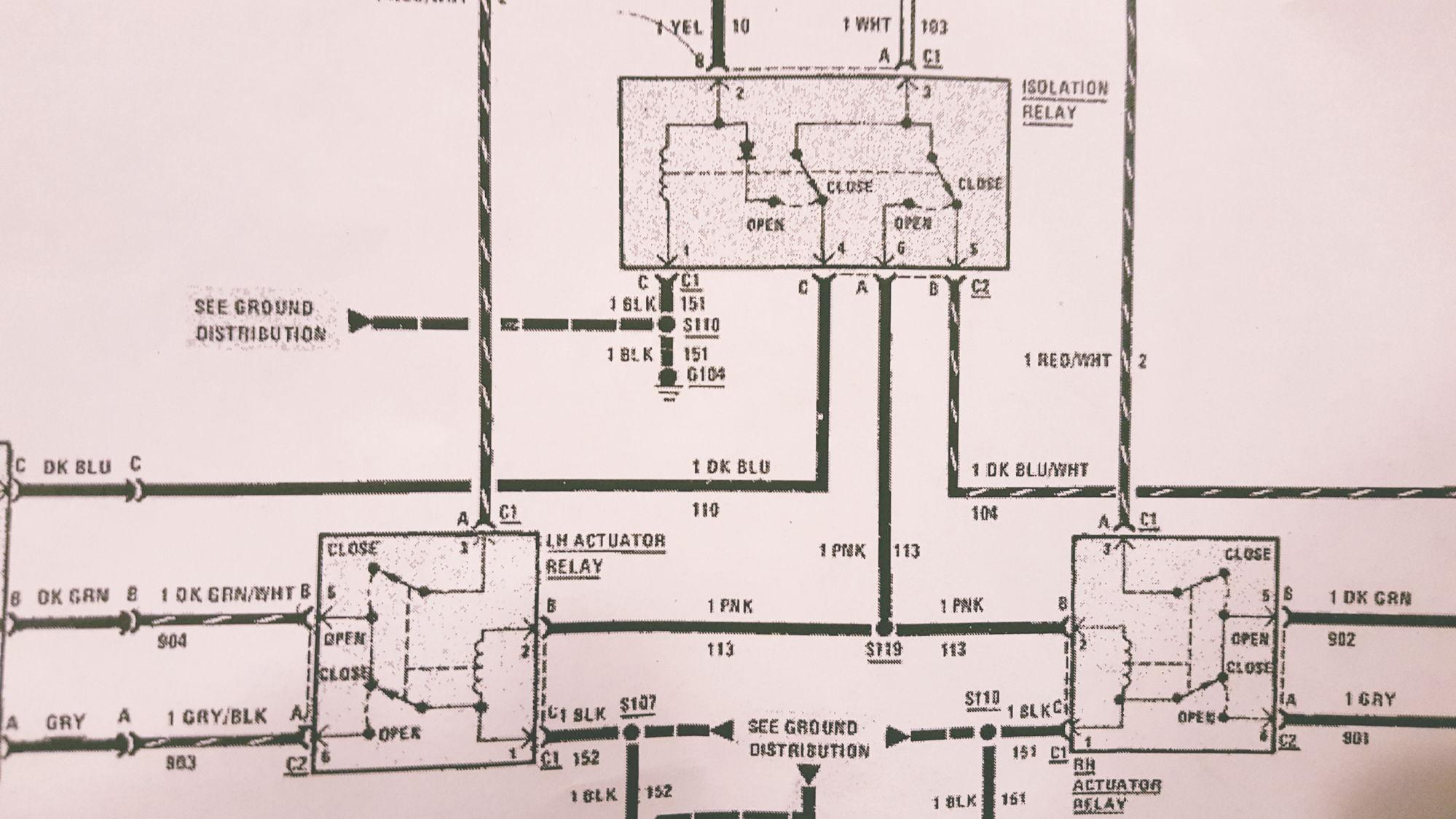 1984 Trans Am Headlight  Relay Information