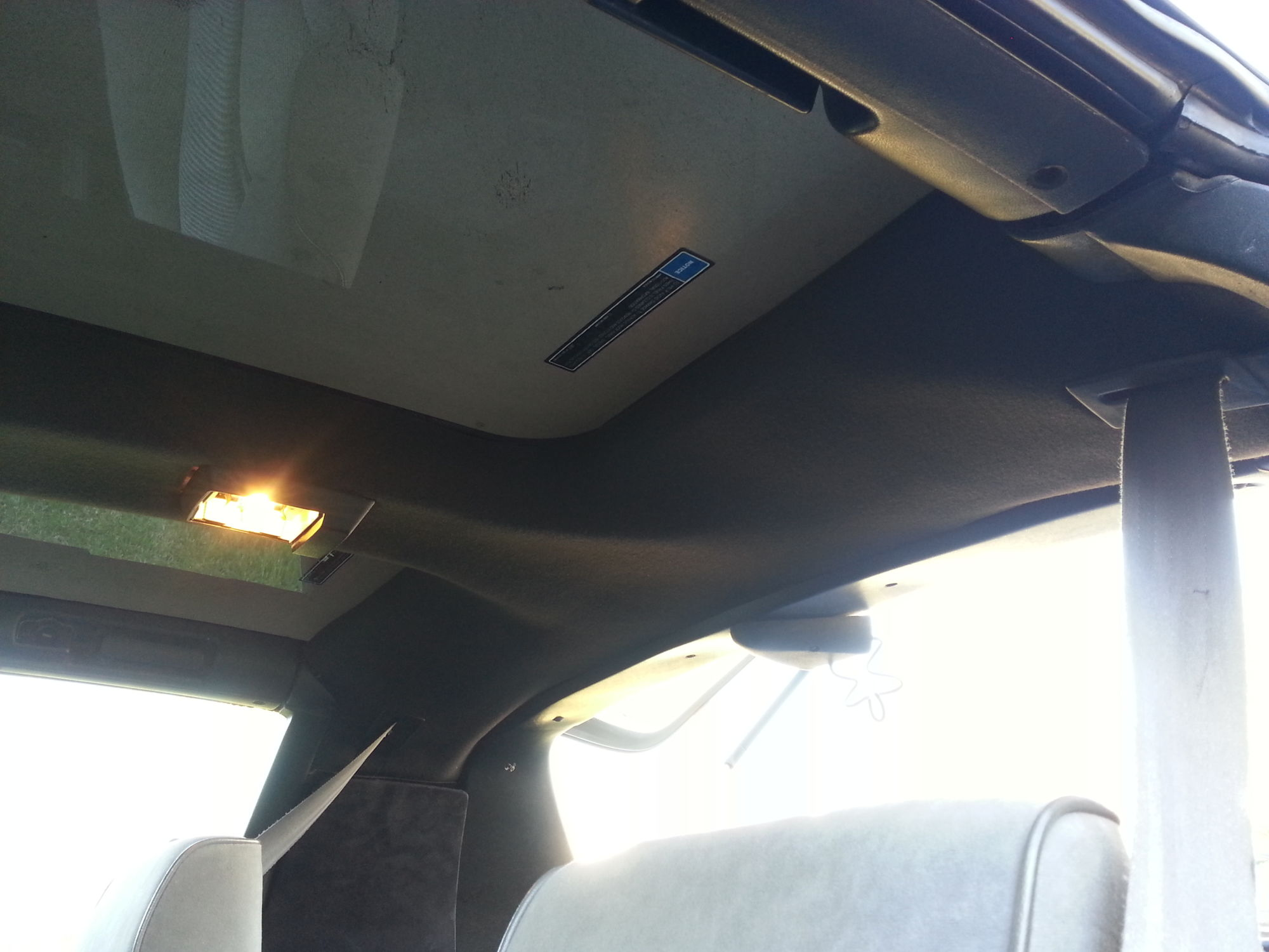 T Top Headliner Replacement Third Generation F Body