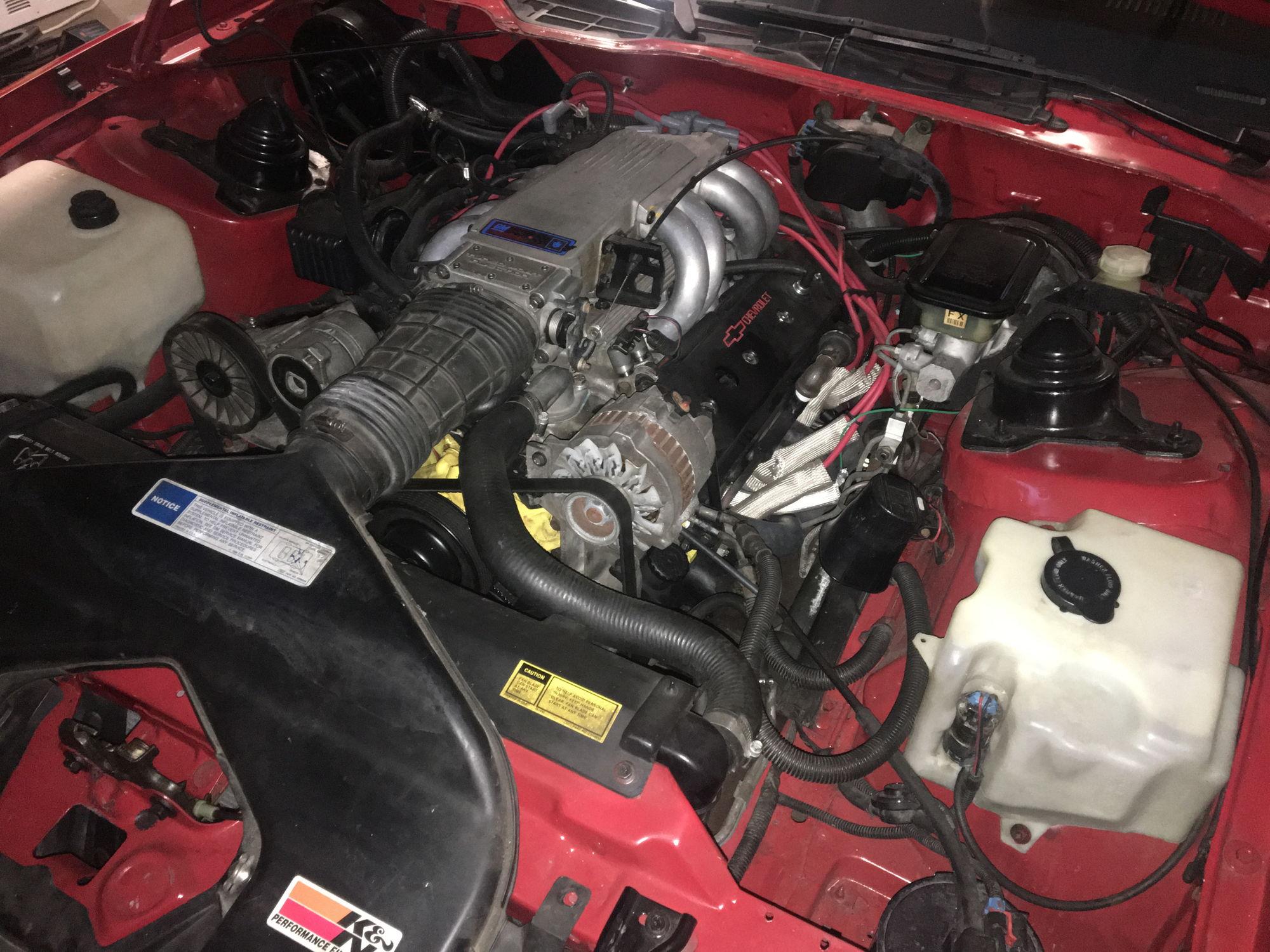 1991 Camaro Z 28 1le R7u Canadian Players Car Third