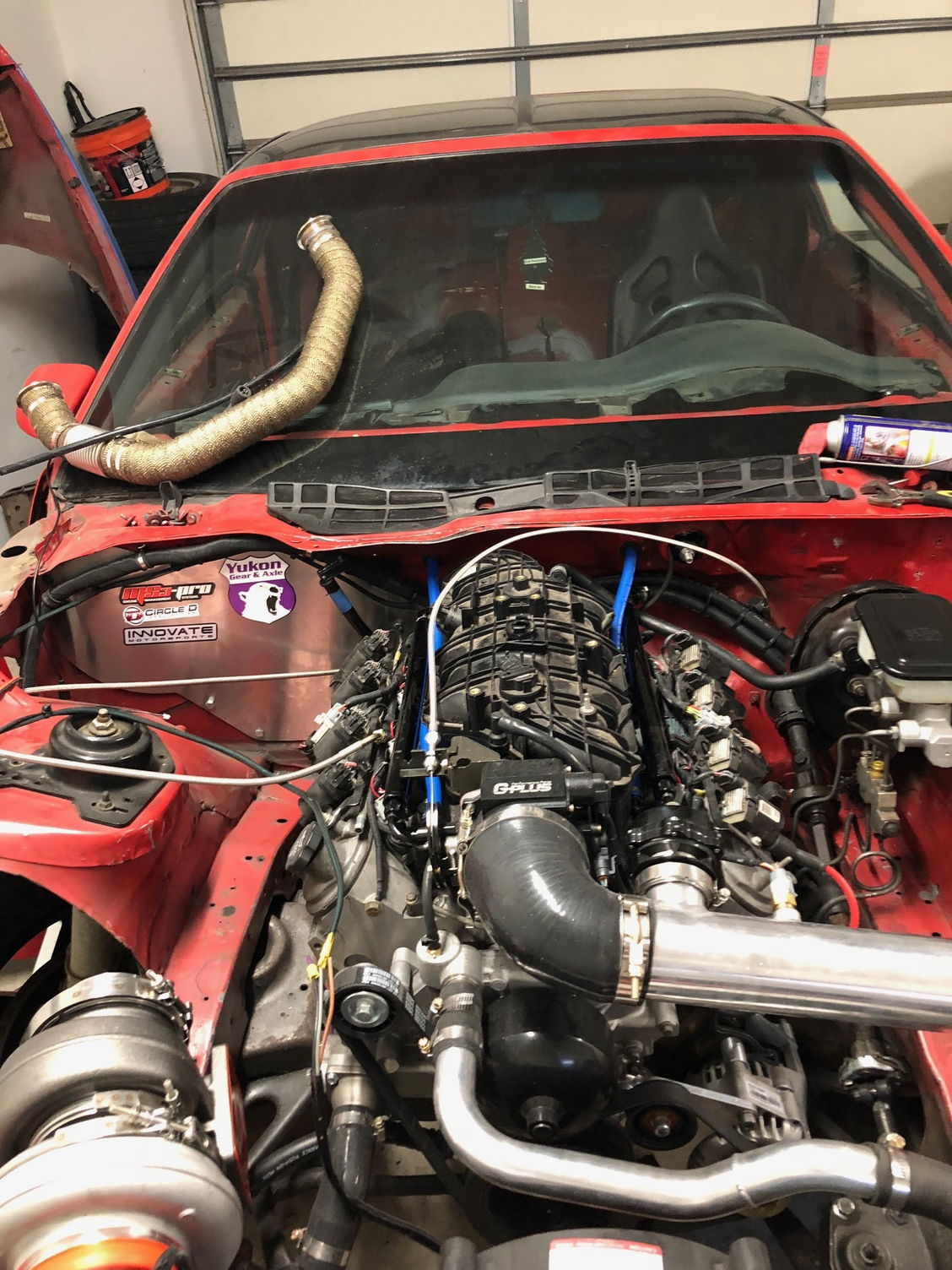 Hooker Ls Turbo Manifold Build Third Generation F Body