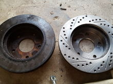 new rotor vs. old