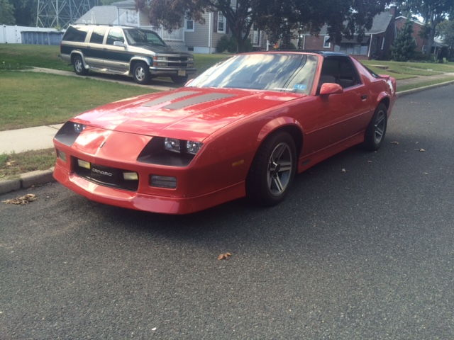 New Jersey Clean 1987 Iroc Roller Third Generation F