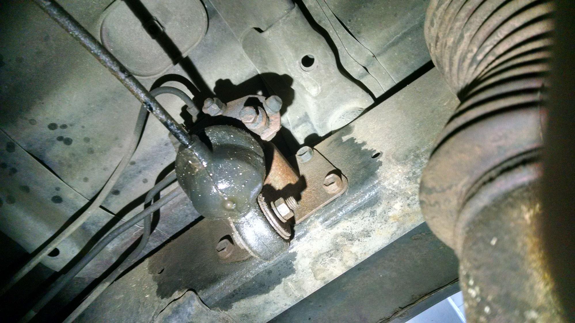 Brake fluid leak. Is this a LPSV?.... - YotaTech Forums