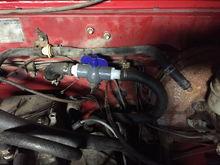 New heater control valve