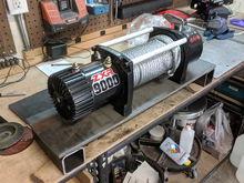 Another 4Runner Winch Bumper Build