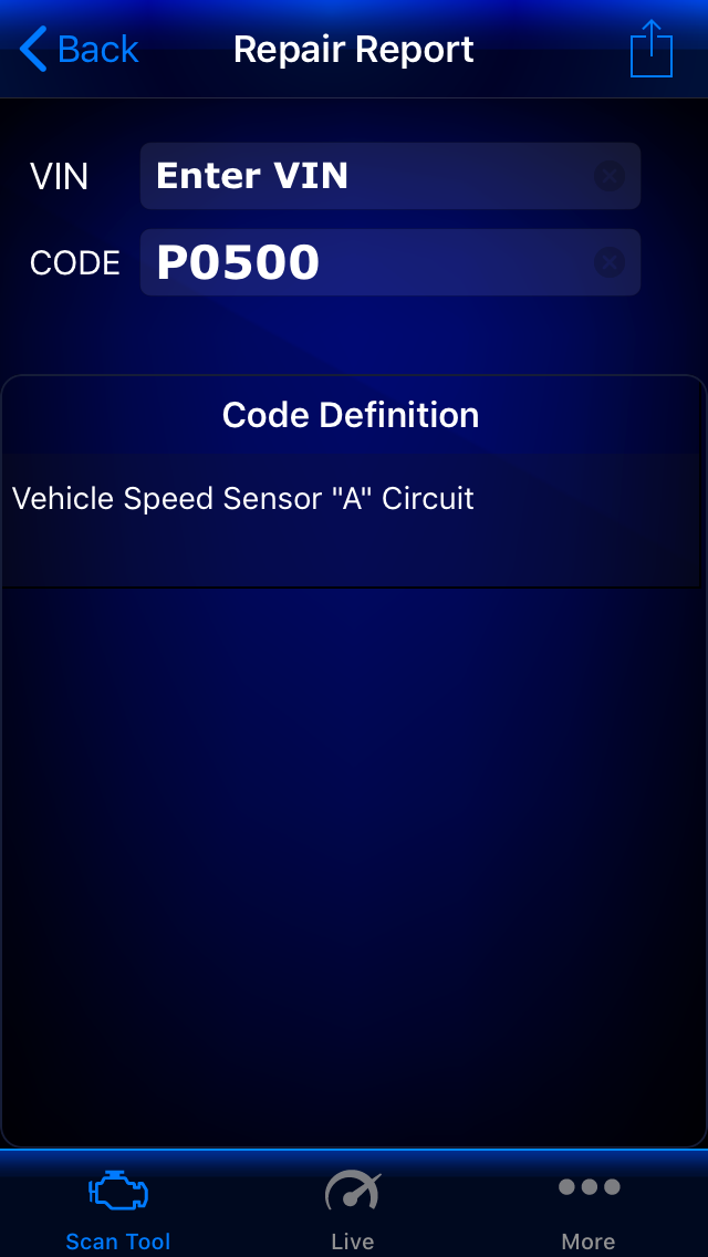 P0500 Code - Vehicle Speed Sensor - YotaTech Forums
