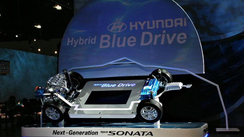Hyundai Hybrid Blue Drive
