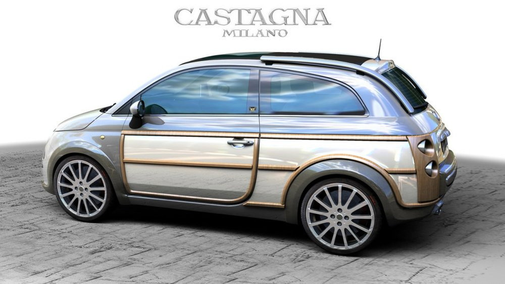 Castagna Reveals Fiat 500 And Mini Clubman Woody