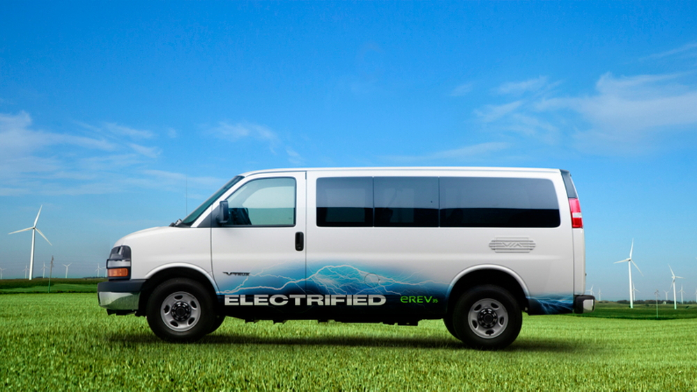 Via Motors extended-range electric van