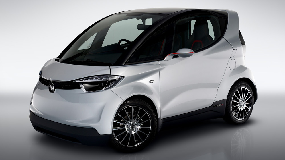 Yamaha Motiv city car concept