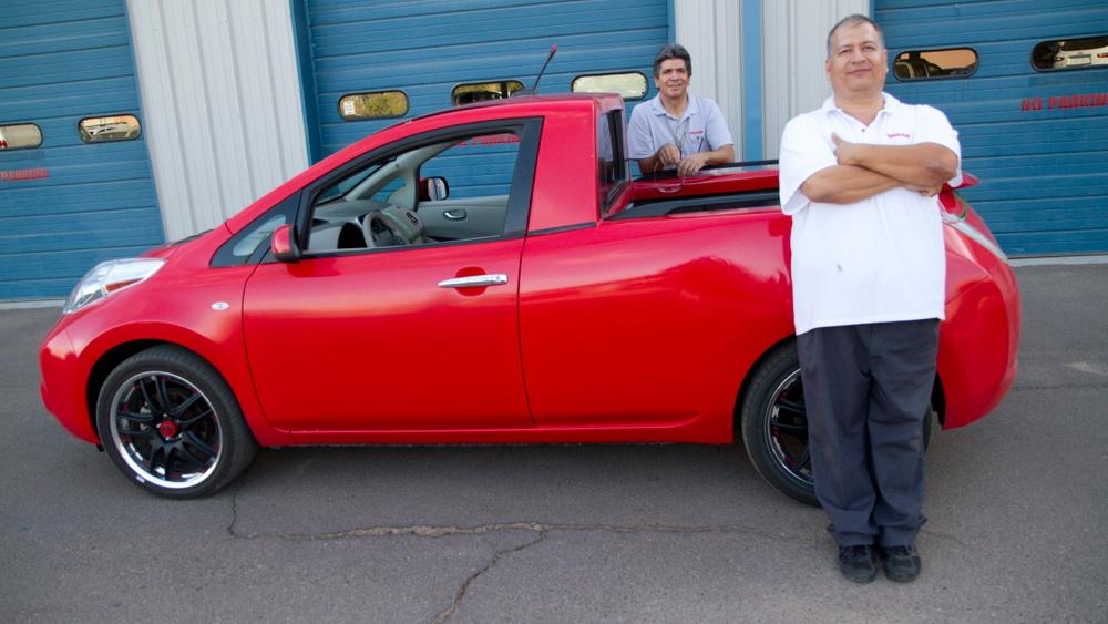Nissan Leaf pickup truck