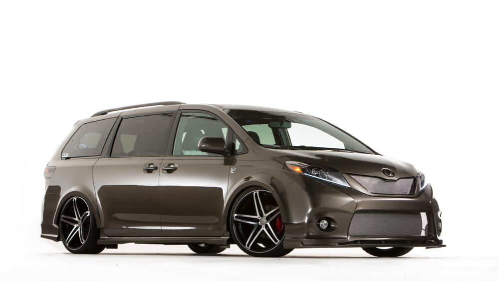 2015 Toyota Sienna DUB Edition, SEMA 2014