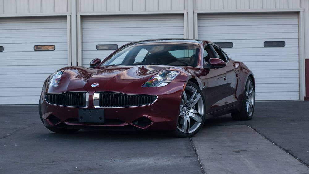 2012 Fisker Karma from the Rogers' Classic Car Museum collection