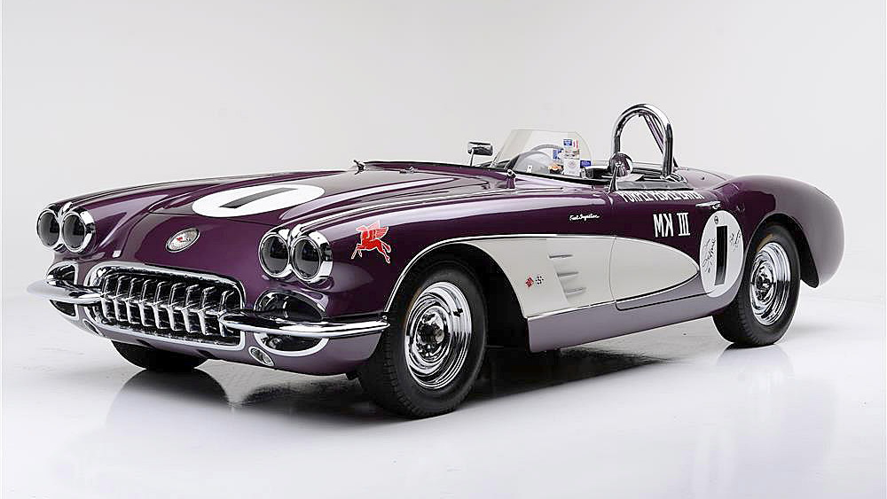 1959 Chevrolet Corvette Purple People Eater