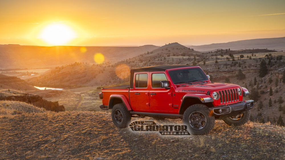 2020 Jeep Gladiator leaked via Jeep Gladiator Forum