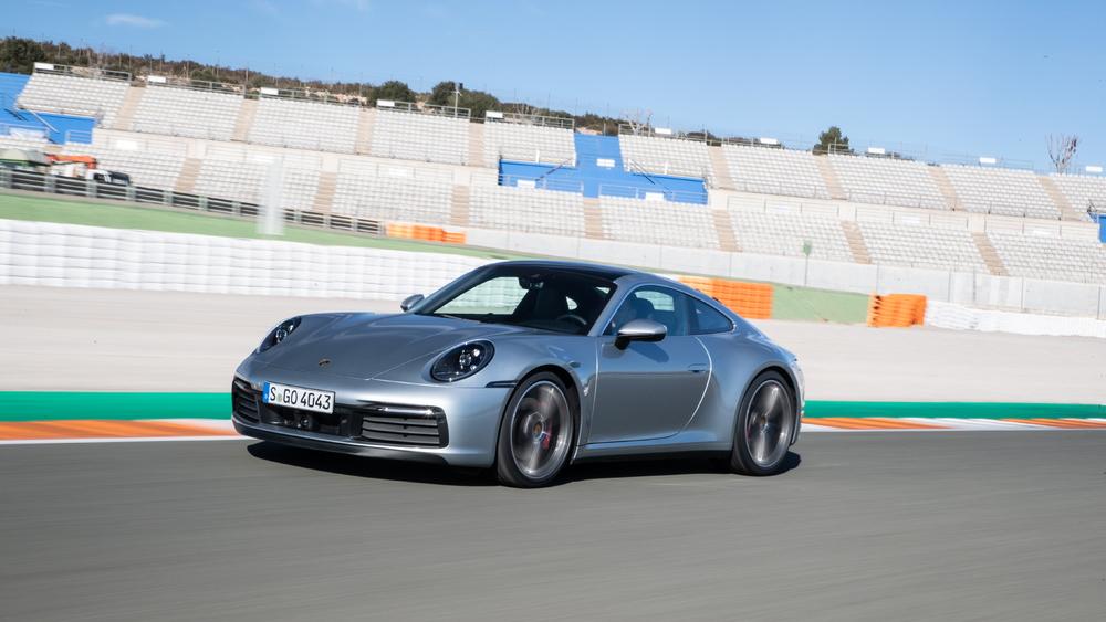 2020 Porsche 911 Carrera 4S, Valencia, Spain, January 2019