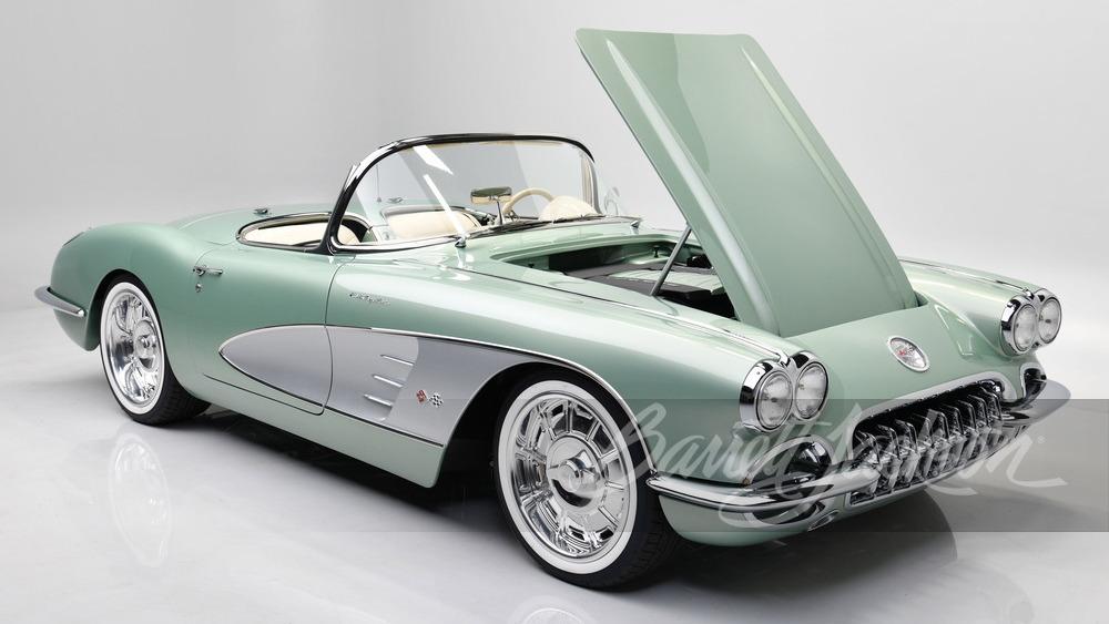1959 Chevrolet Corvette restomod bought by Kevin Hart (Photo by Barrett-Jackson)