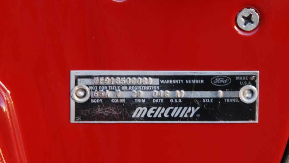 1967 Mercury Cougar (#001)