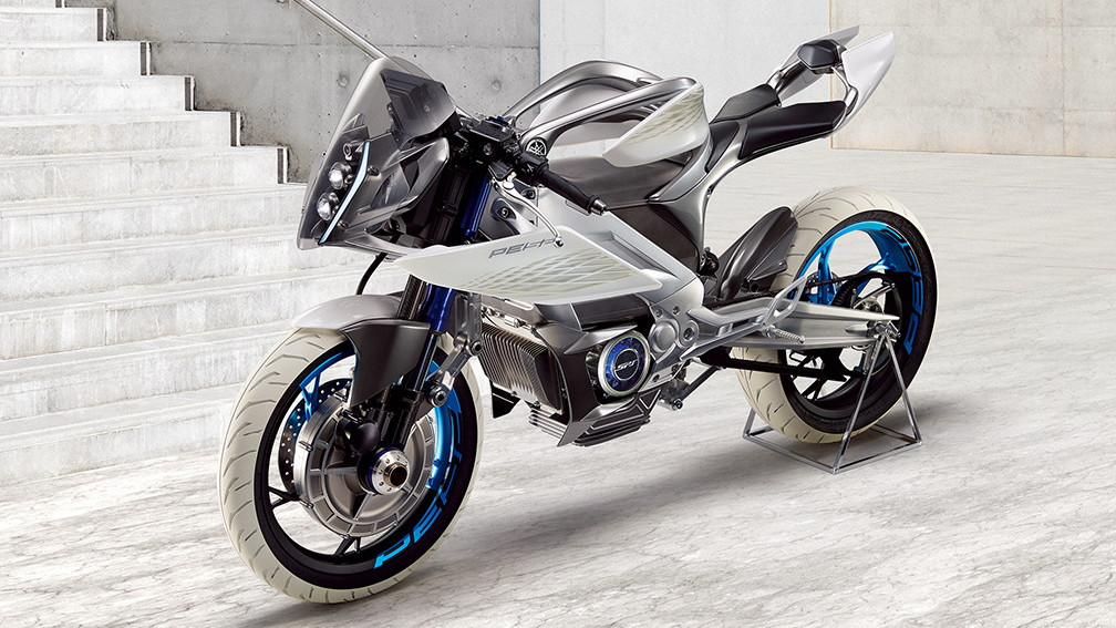 Yamaha PES2 electric motorcycle