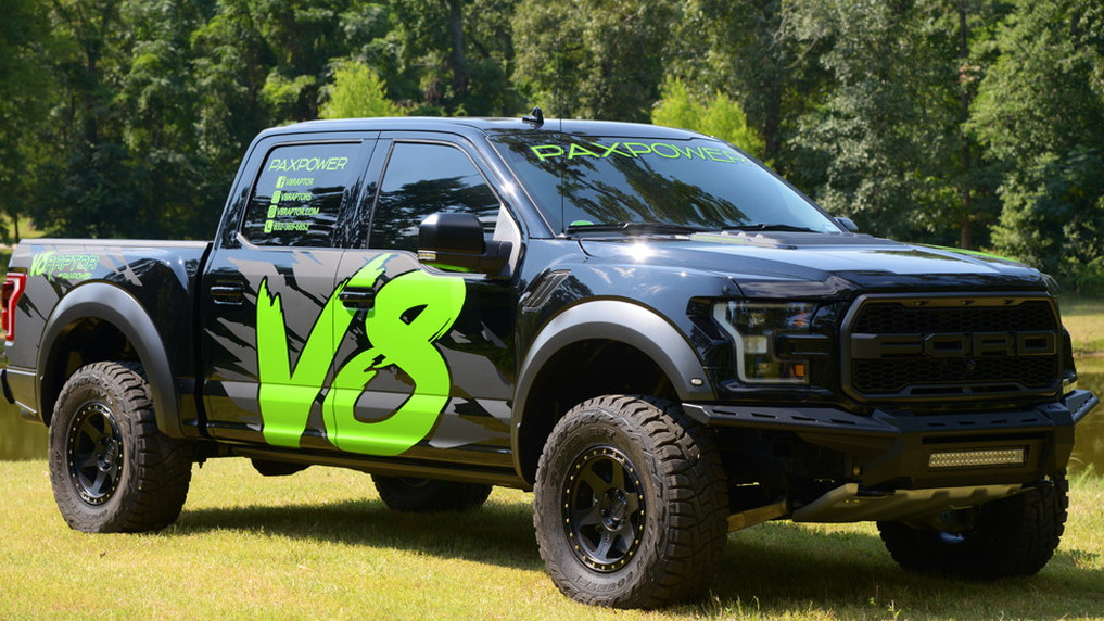 PaxPower Ford F-150 Raptor conversion