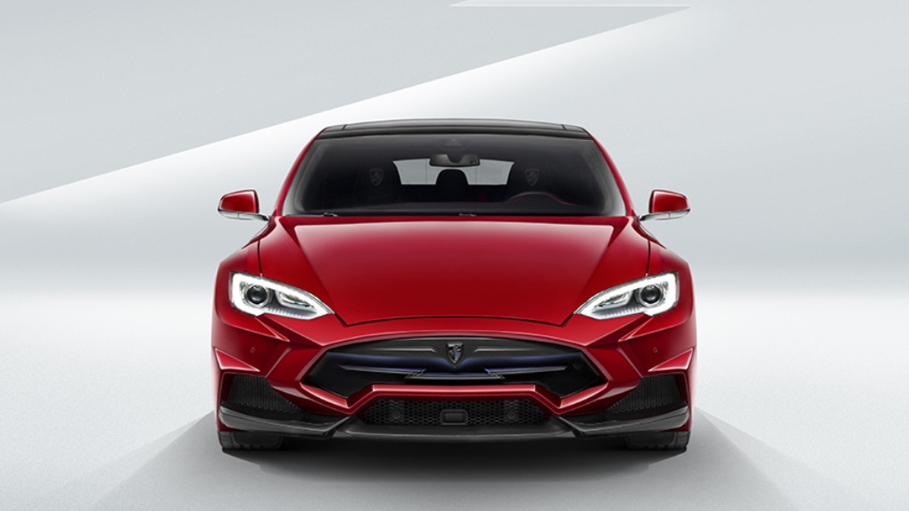 Larte Enigma body kit for Tesla Model S