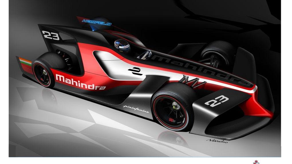 Pininfarina Formula E concept for Mahindra