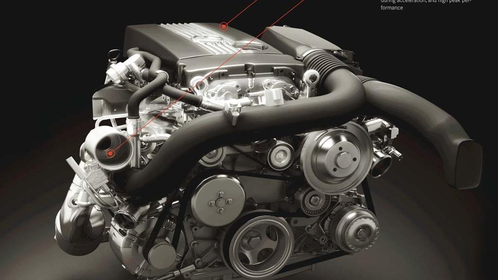 Mercedes-Benz DiesOtto engine