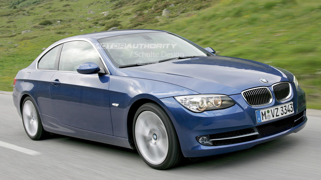 2010 BMW 3-Series Coupe facelift rendering