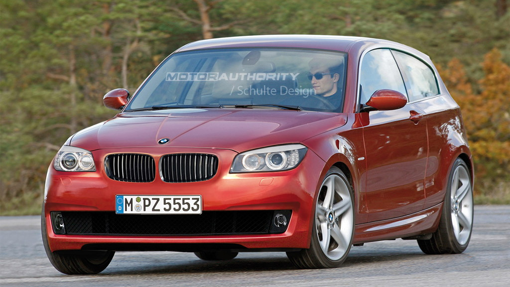 2012 BMW 1-Series Hatchback rendering