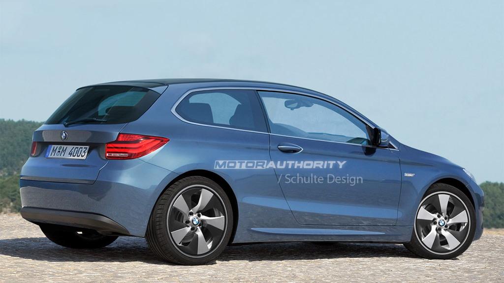 BMW minicar rendering
