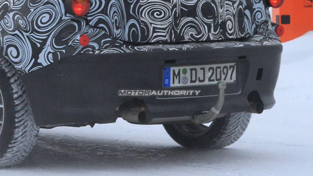 BMW 1-Series M Car spy shots