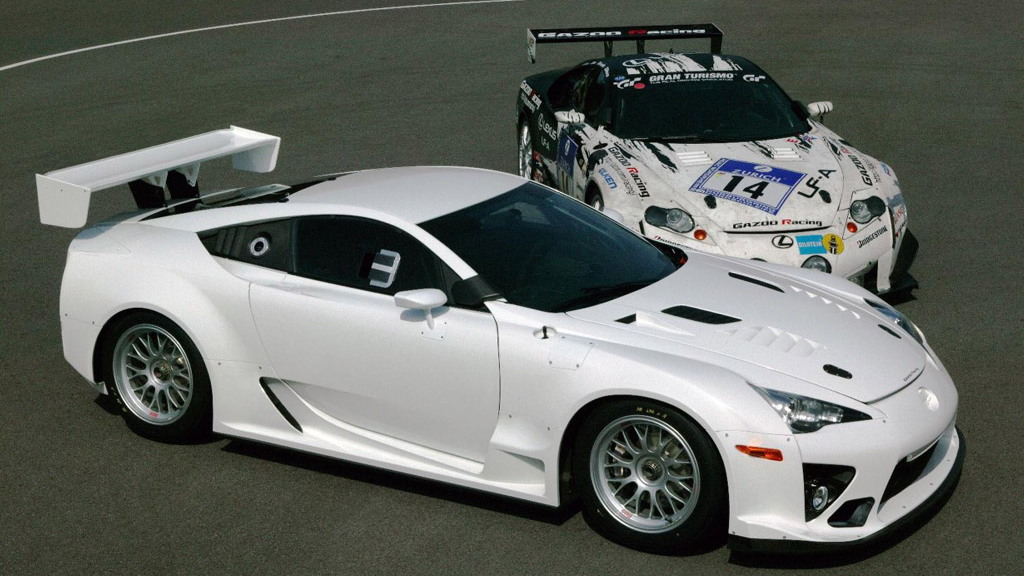 Lexus LFA Nurburgring 24 Hour race car