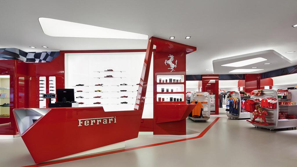 Ferrari Store of New York, grand opening