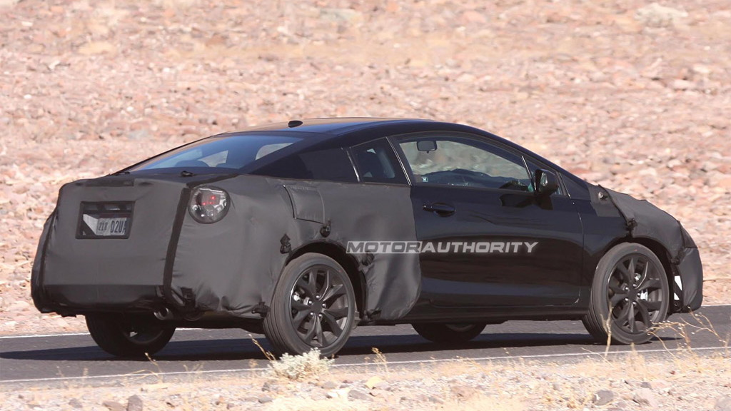 2012 Honda Civic Coupe spy shots