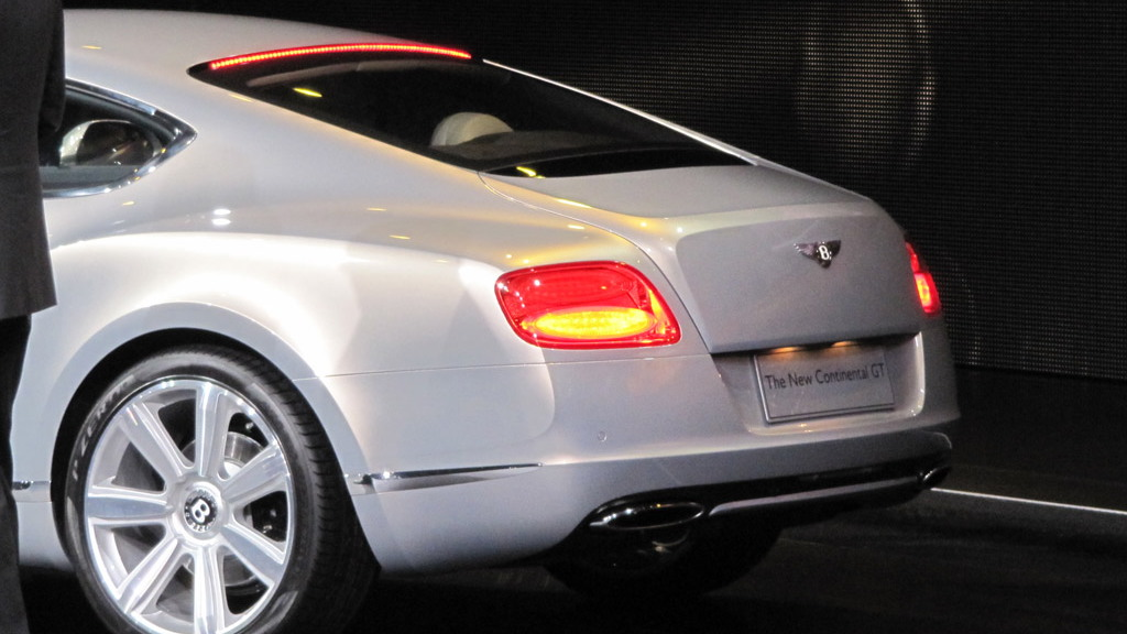 2011 Bentley Continental GT live photos